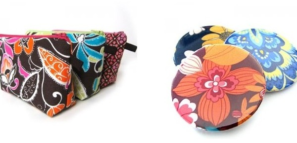 Gift Ideas: Custom Makeup Pouches & Mirrors