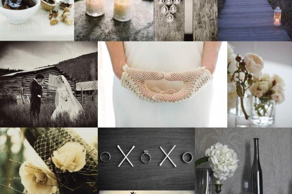 Inspiration Board # 5: Rustic & Elegant Wedding