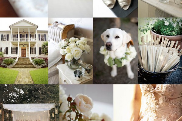 Inspiration Board #13: Cream Wedding (and 300th post!)