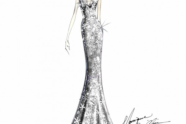 Monique Lhuillier at Bergdorf