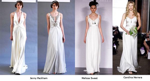 Long dresses for daytime wedding