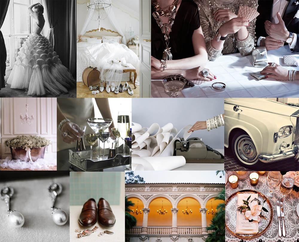 vintage wedding design