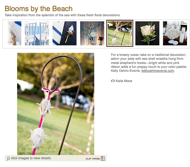 brides.com summer wedding feature