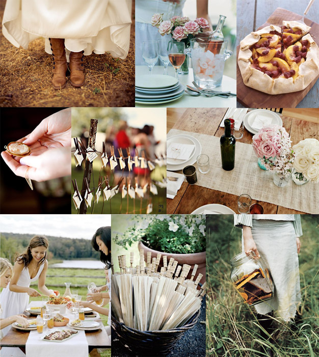 Inspiration Board #25: Picnic Wedding