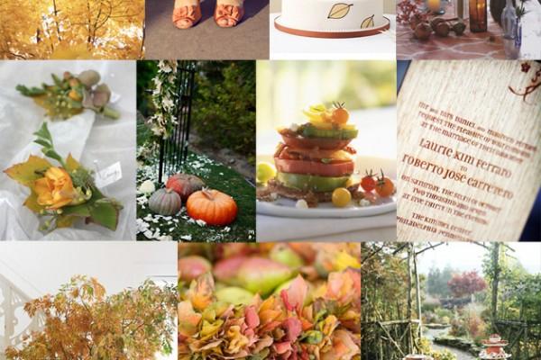 Inspiration Board #37: Fall Wedding