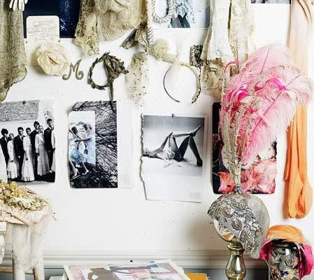 Inspiration Board #40: Glamorous, Pink & Mint Wedding