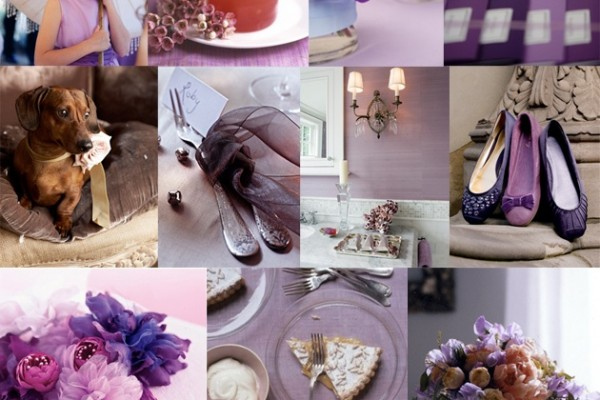 Inspiration Board #43: Shades of Purple