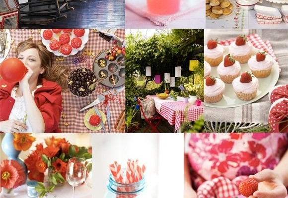 Inspiration Board #48: Strawberry Fields