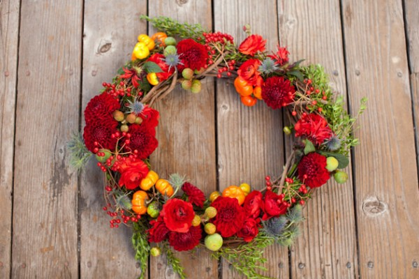 Chic Holiday Wreath