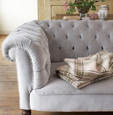 Tufted + Touches of Blue