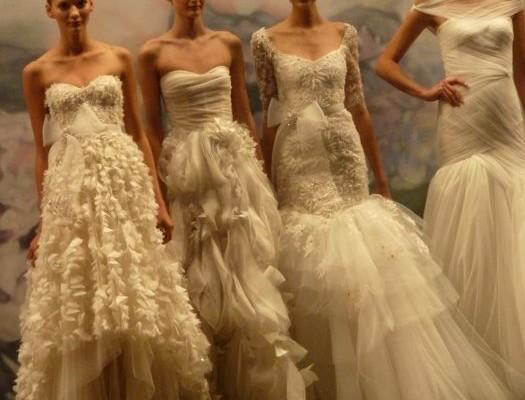 Bridal Market: Monique Lhuiller Fall 2012
