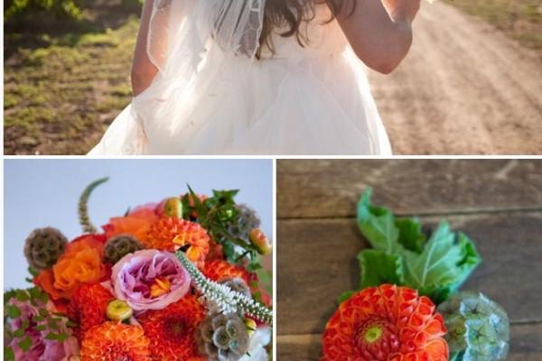 Real Wedding: Vibrant Winery Wedding