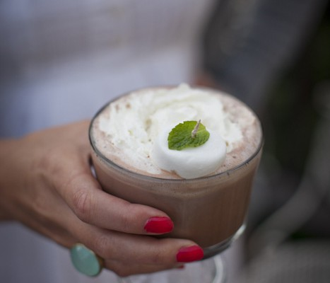 On The Rocks: Peppermint Hot Chocolate