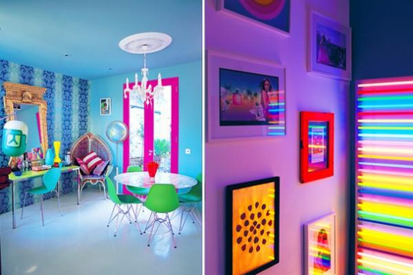Color Palette: Neon-tastic