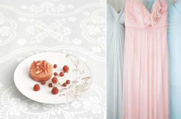 Color Palette: Pink, Gray, & Soft Blue