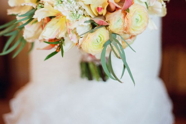 Real Wedding: Classic Elegance with Pops of Color