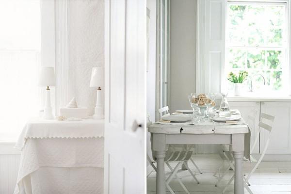 Color Palette: White on White