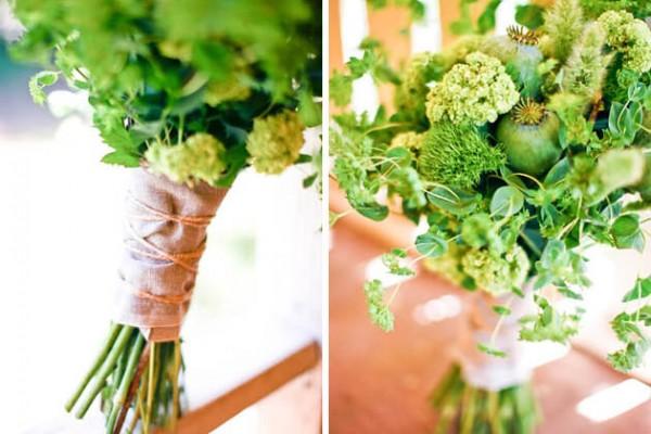 Flower Chic: Green & Modern Wedding Bouquet