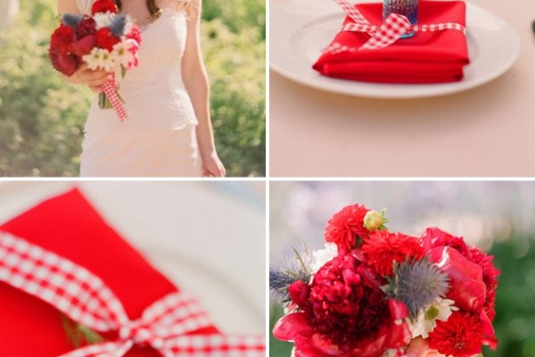 Inspiration: Fourth of July Flowers