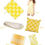 yellow-ikat