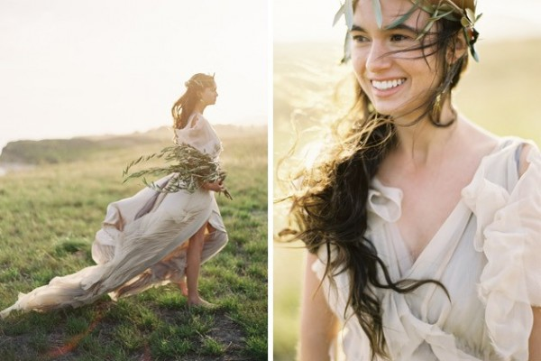 Editorial: Grecian Goddess with Jose Villa