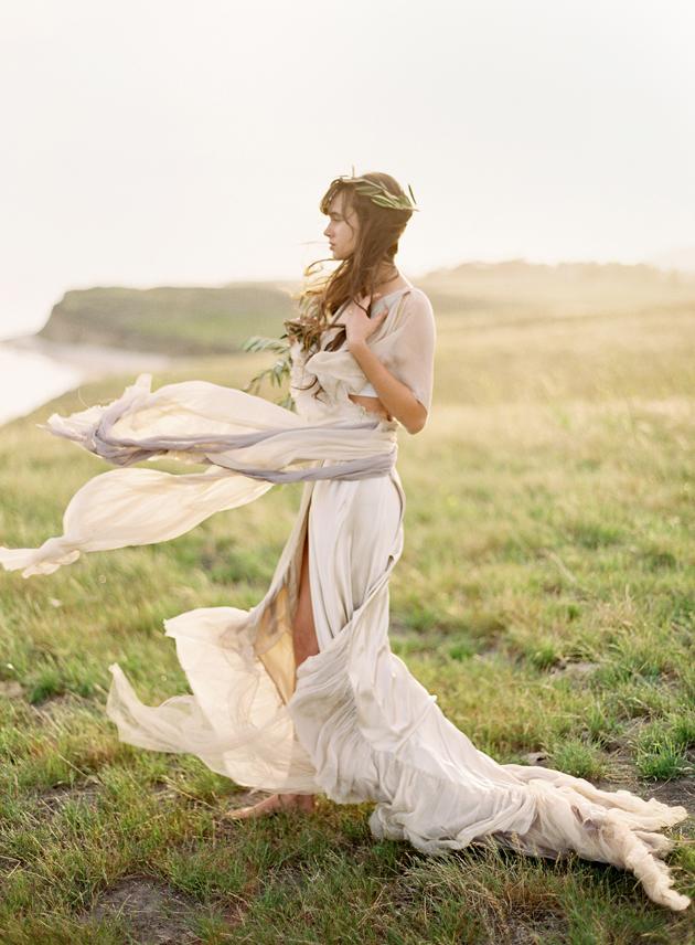 Grecian Goddess Wedding Inspiration Los Angeles Prop Stylist
