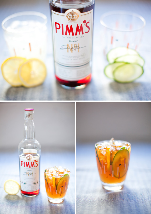 On the Rocks: Pimm's Cup | Los Angeles Prop Stylist Photo Stylist