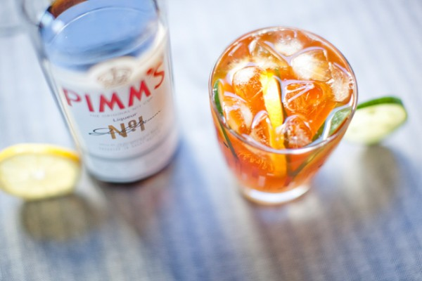 On the Rocks: Pimm's Cup