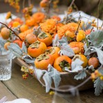 thanksgiving-centerpiece-with-persimmons