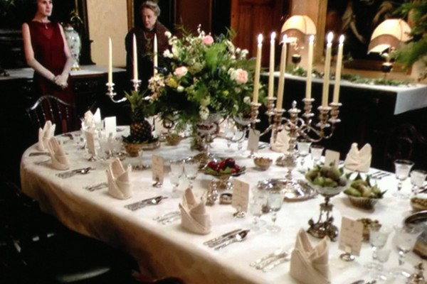 Get the Look: Downton Abbey's Tabletop Style