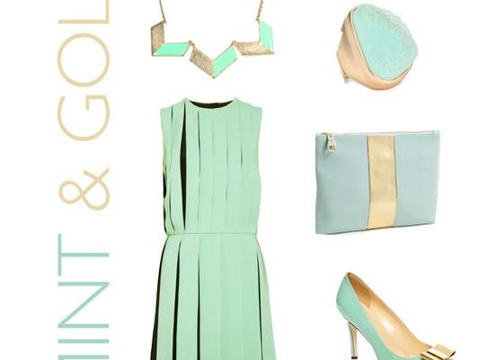Let's Shop: Minty Fresh + Gold