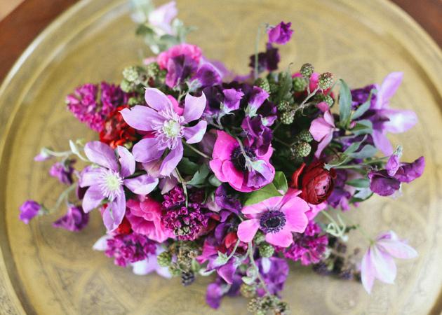 Purple and pink flower arrangements credainatcon purple and pink flower ideas kelly oshiro mightylinksfo