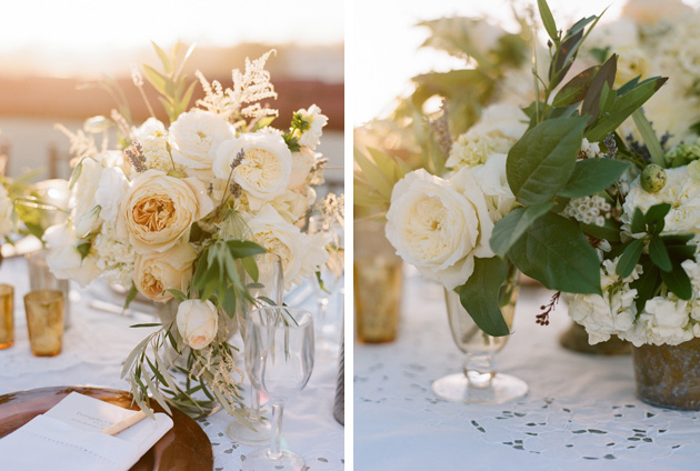Real wedding greek garden elegance los angeles prop
