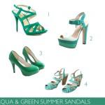 AQUA-GREEN-SHOES