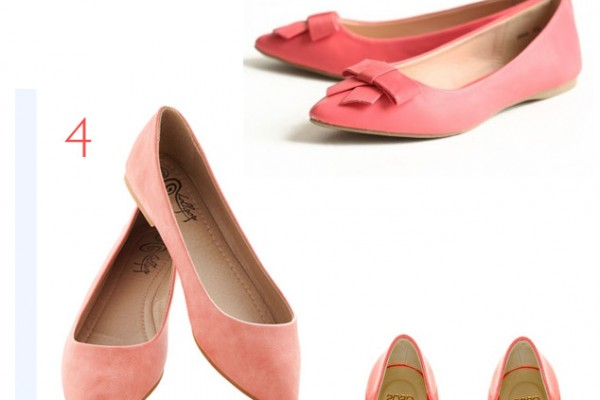 Shoesday: Coral Skimmers
