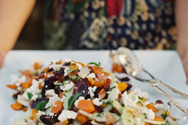 Quick Eats: Armenian Cucumber and 3 Carrot Salad