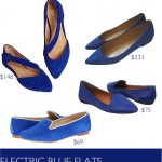 electric-blue-flats-shoesday
