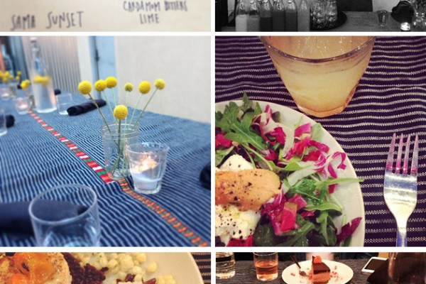 Around Town: Pop Up Dinner with Om Sweet Mama
