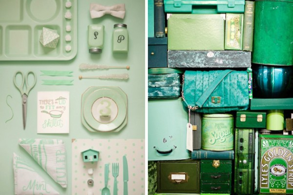 Pretty Little Bits: Blue & Green