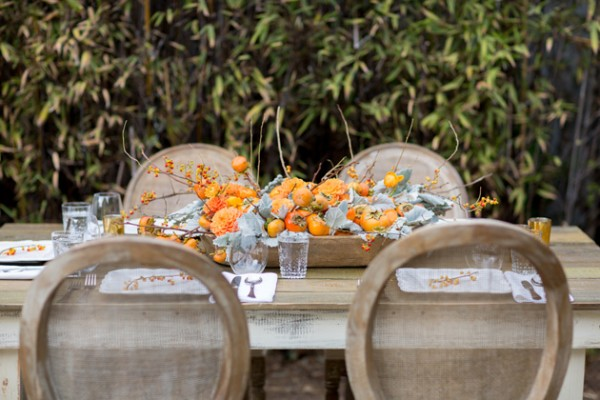 Entertaining: A Persimmon Centerpiece + <br> Snag the Last Ticket to my Workshop on Nov 2nd!