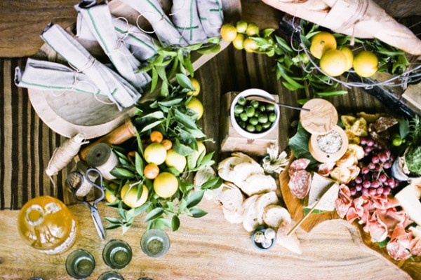 Entertaining: A Charcuterie Table