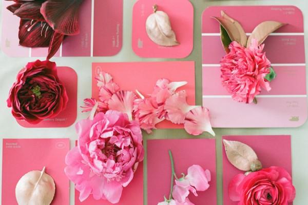 DIY: A Hot Pink Gal-entine's Day Arrangement