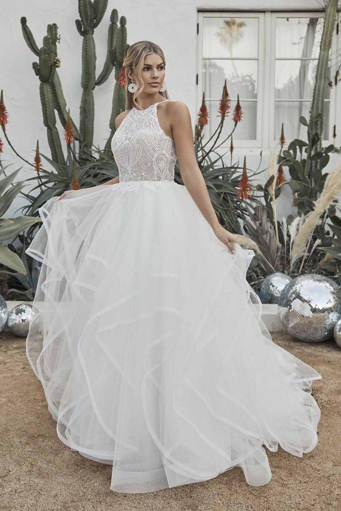 wedding set designer casablanca bridal | kellyoshiro.com