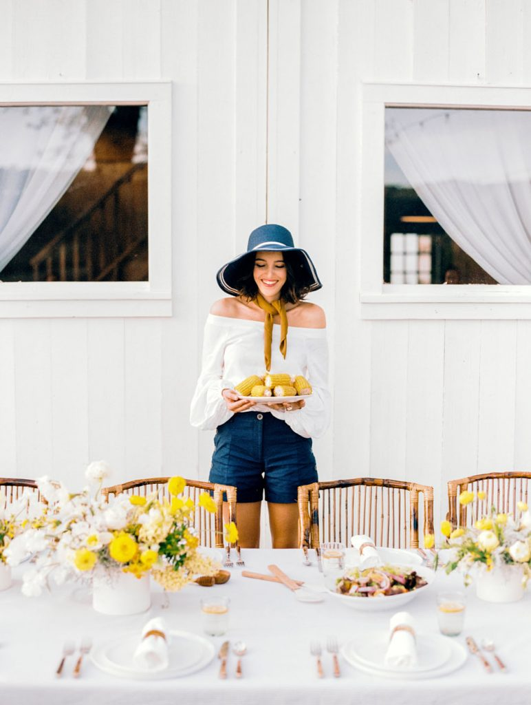 kellyoshiro.com | photo: Leo Patrone | The Principles of Styling Workshop | Hamptons BBQ Inspiration