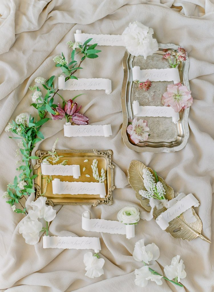 kellyoshiro.com | wedding editorial stylist lace wedding ideas | photo: Jeanni Dunagan