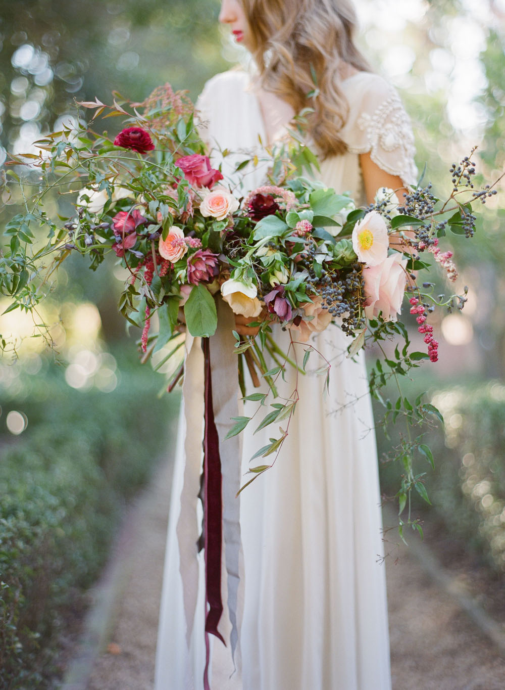 kellyoshiro.com | Photo: Megan Sorel | Wedding Bouquet & Ceremony Inspiration by Amy Osaba