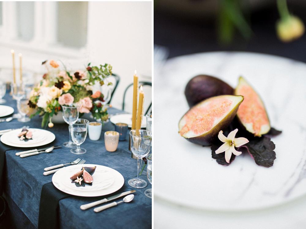 kellyoshiro.com | Photo: Booth Photographics | Mid century meets old world wedding inspiration by wedding stylist Kelly Oshiro