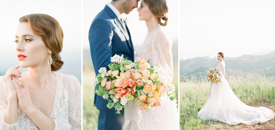 kellyoshiro.com | Photo: The Komans | Citrus wedding inspiration | wedding stylist