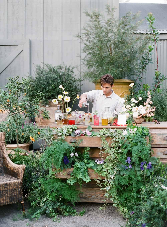 kellyoshiro.com | photo: Michelle Beller | Editorial Stylist Los Angeles | Botanical Entertaining Ideas