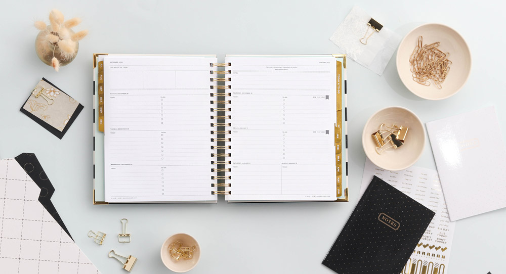 flat lay product styling | day designer